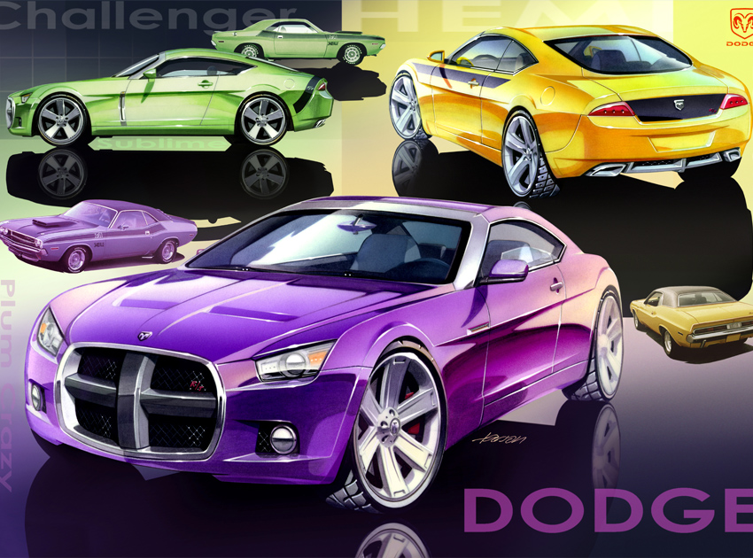 Dodge Challenger Artwork